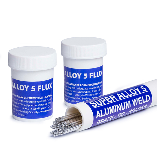 Super Alloy 5 Aluminum Welding And Brazing Rod Muggy Weld