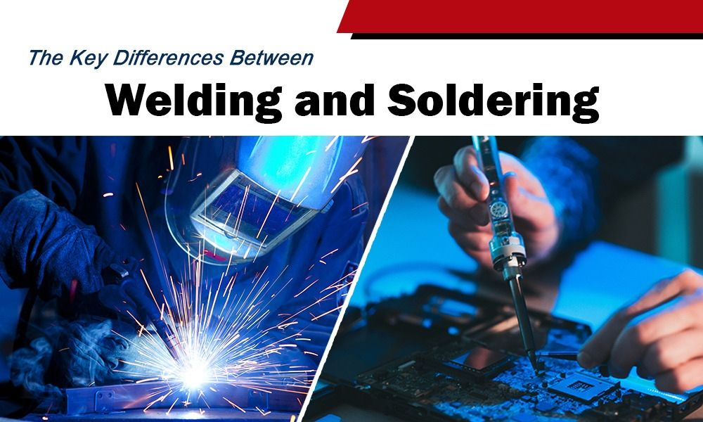 The Key Differences Between Welding and Soldering
